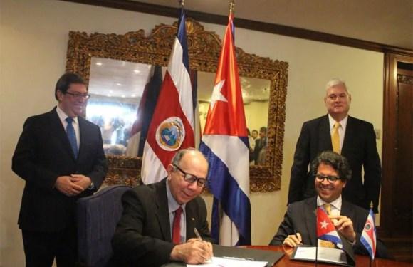 Costa Rica y Cuba fortalecen lazos diplomáticos y de cooperación