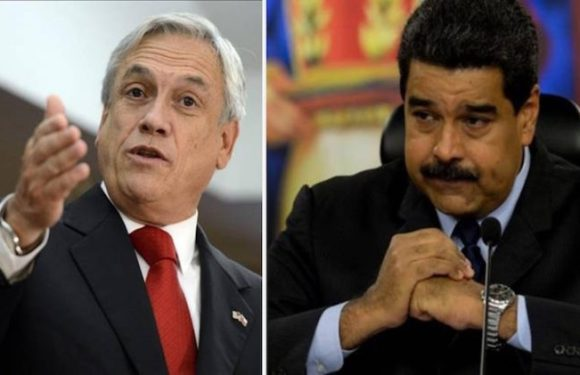 Sebastián Piñera: «La dictadura de Maduro debe terminar por la fuerza pacífica»