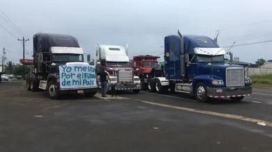 Gobierno recibió a representantes de transportistas ayer domingo