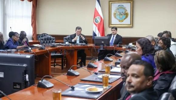 Reunión de religiosos de zona caribeña del país con Presidente de la República