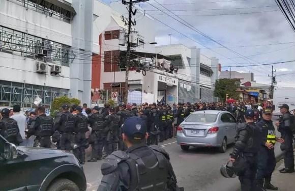 Autoridades de unidades académicas piden al rector de la UNA que solicite retiro de Fuerza Pública