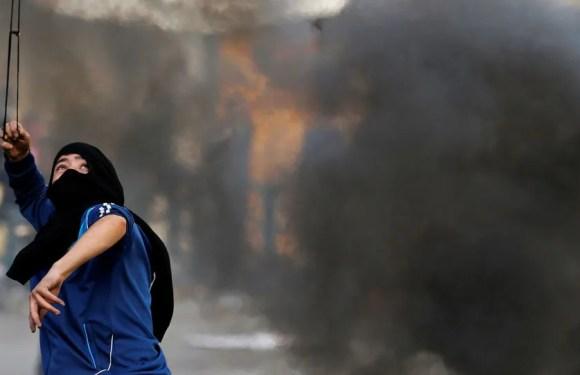 Decenas de palestinos heridos en las protestas de Cisjordania