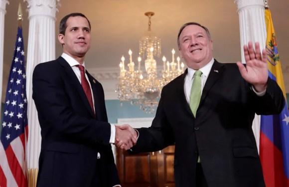 """Pompeo propone un """"gobierno de transición"""" en Venezuela sin Maduro ni Guaidó al frente"""