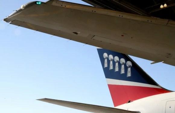 Actualidad NFL: avión de New England Patriots transporta 1,2 millones de máscaras desde China