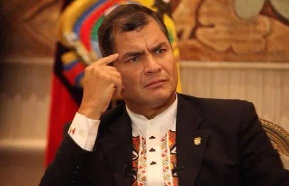 Rechazan sentencia contra expresidente ecuatoriano Rafael Correa