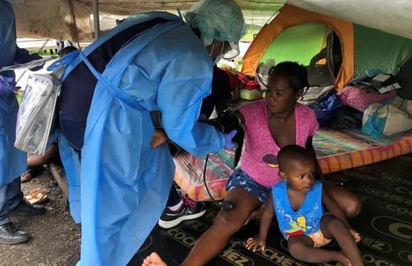 Panamá aísla a migrantes en remoto albergue en medio de la selva por temor a coronavirus
