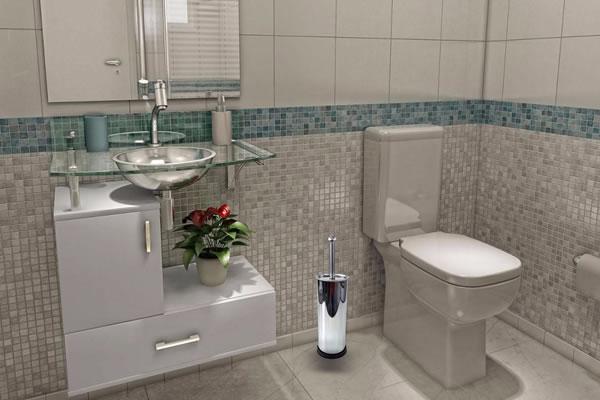 Como lavar banheiro