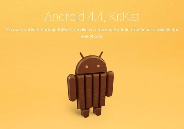 Android 4.4 KitKat nueva versión