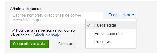 Google Docs edicion documentos online
