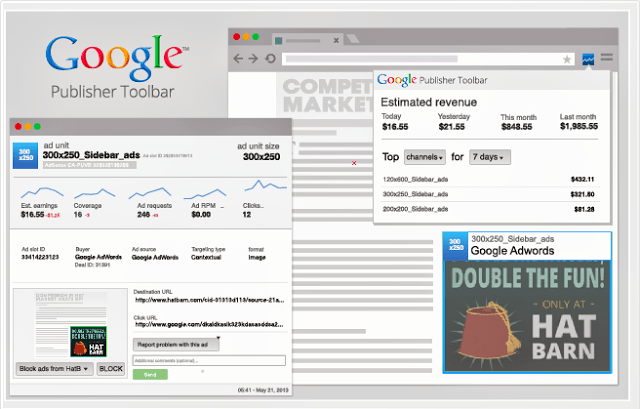 Google Publisher Toolbar actualizacion