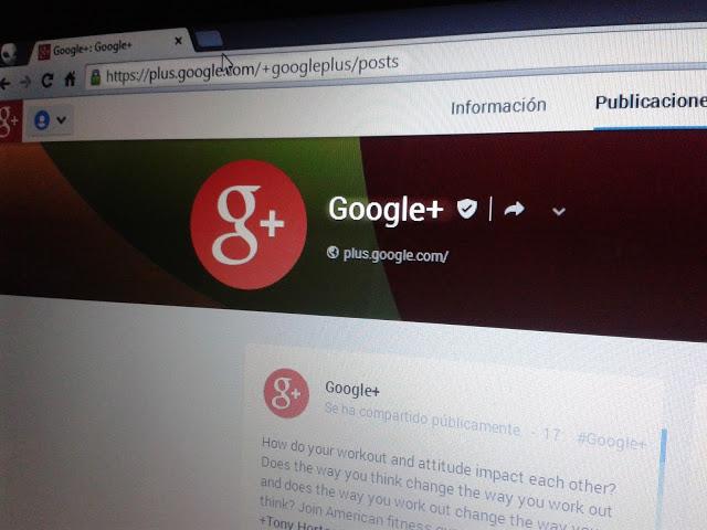 URL personalizada en Google+