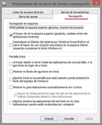Inicia directamente en el escritorio en Windows 8.1