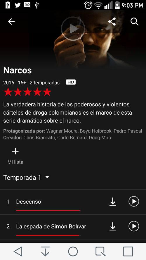 Descargar Series Netflix