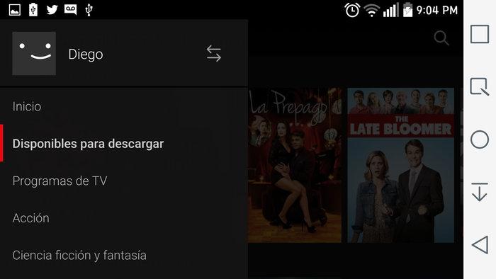 Descargar titulos Netflix
