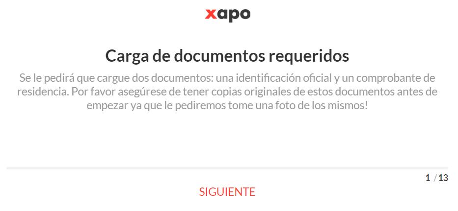 Documentos xapo