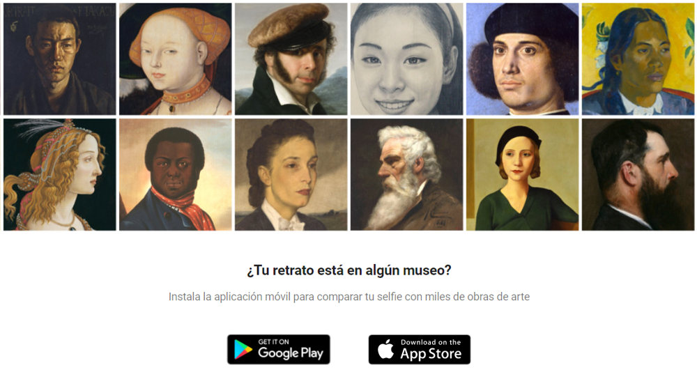 Google Arts Culture Selfie retrato
