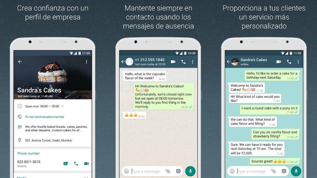 WhatsApp Business para Negocios y Empresas