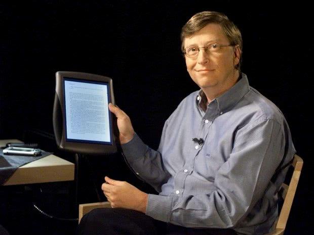 Primera tablet de Microsoft 2000