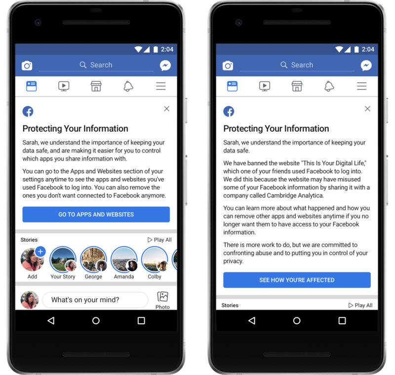 Control de aplicaciones en Facebook