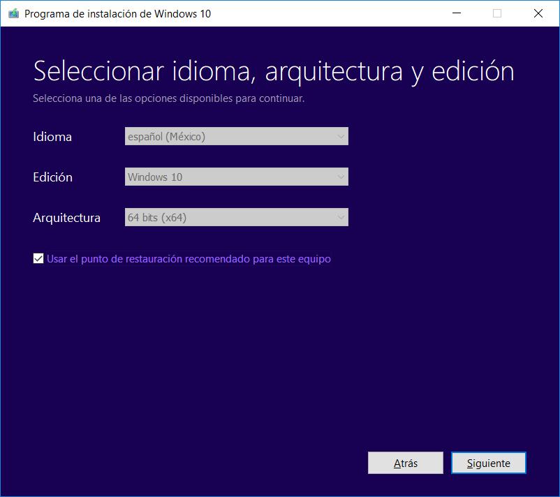Descargar Windows 10 April 2018 Update