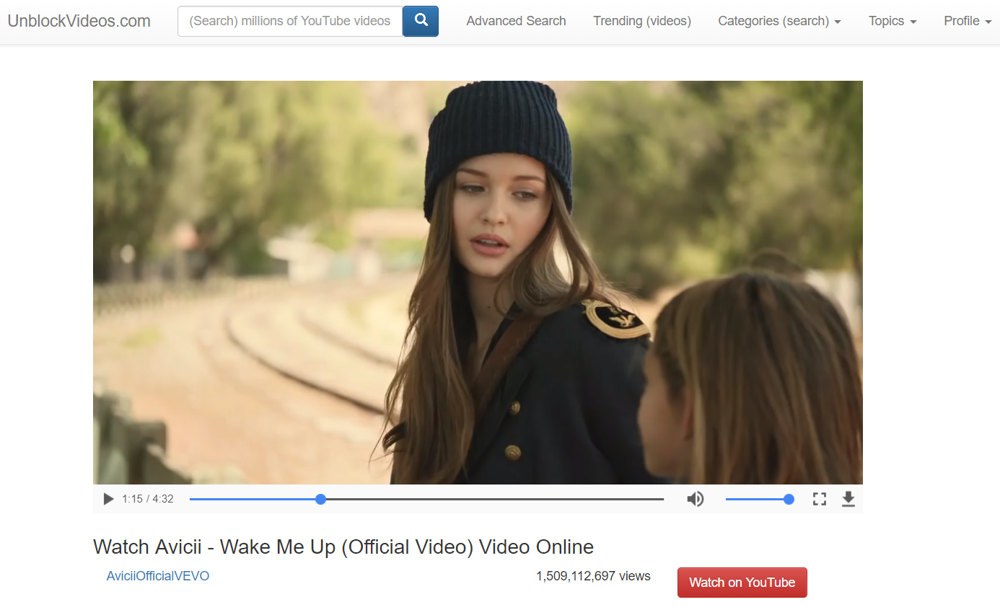 Unblock Youtube Videos