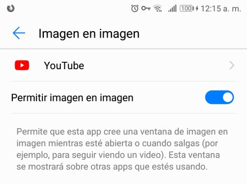 Video superpuesto YouTube