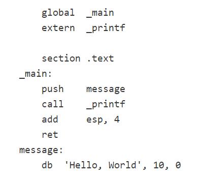 código ensamblador