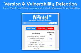 WPintel vulnerabilidades Wordpress