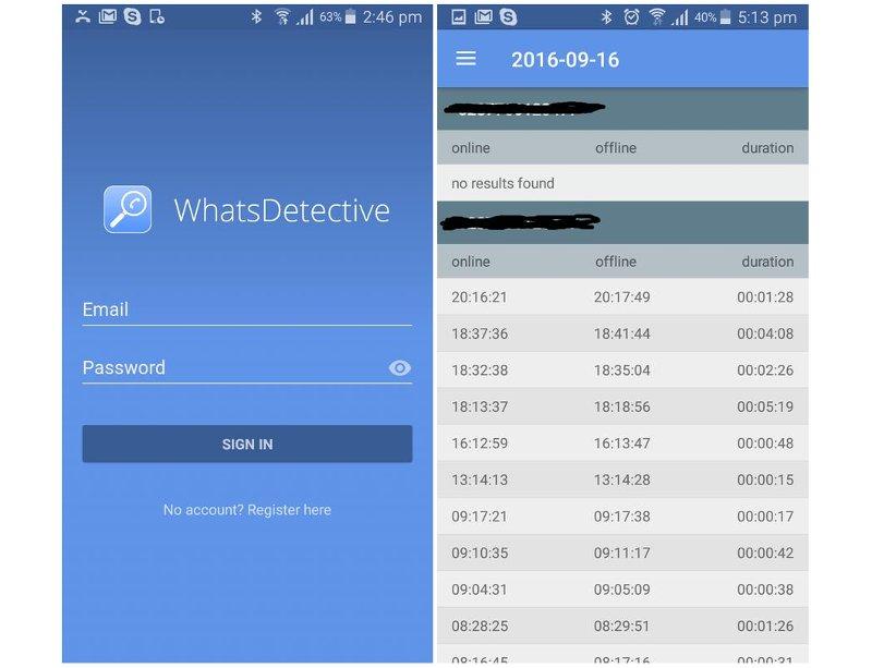 Whats Detective ver si dos números conversan en WhatsApp