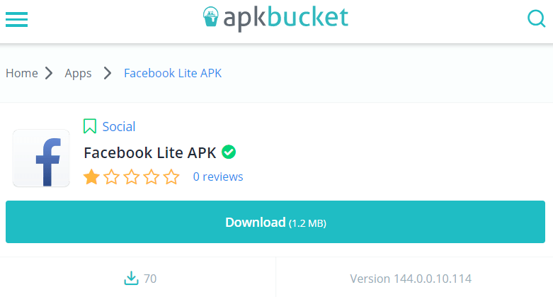 APKbucket apps Android
