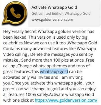 Descargar WhatsApp Gold