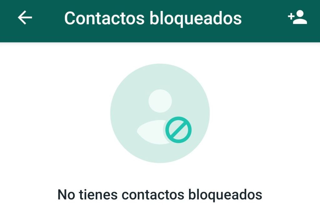 Contactos bloqueados