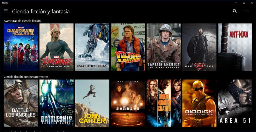 Películas y series secretas de Netflix
