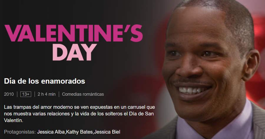 Día de los enamorados Netflix