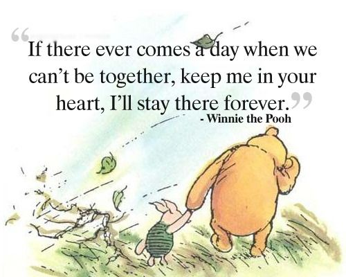 How Lucky Am I To Have Something That Makes Saying Goodbye So Hard Winnie The Pooh