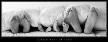 Family Feet of Four - Kenny Moller
