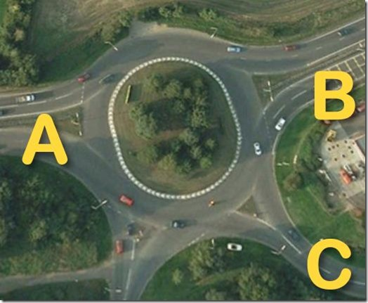 Roundabout - A47 Norwich to Yarmouth