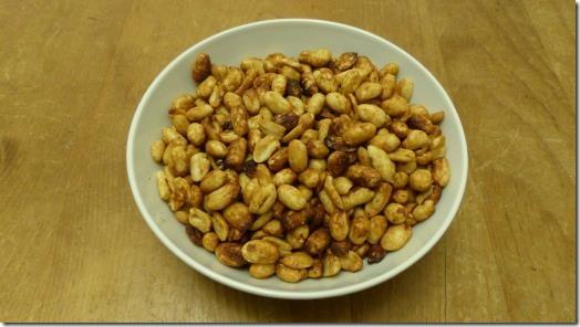 Homemade Dry Roasted Peanuts