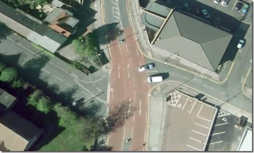 Crossroads in Mapperley