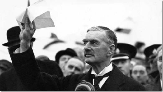 Neville Chamberlain - Peace for our time