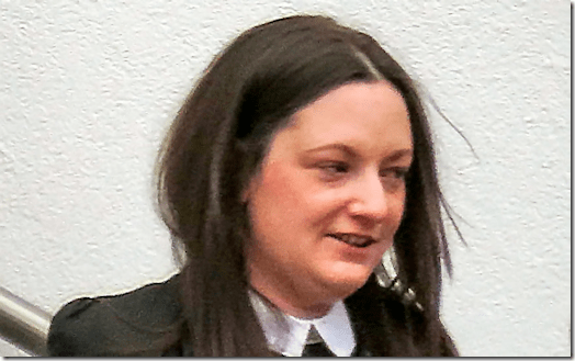 Victoria Parry - now with THREE drink-drive convictions