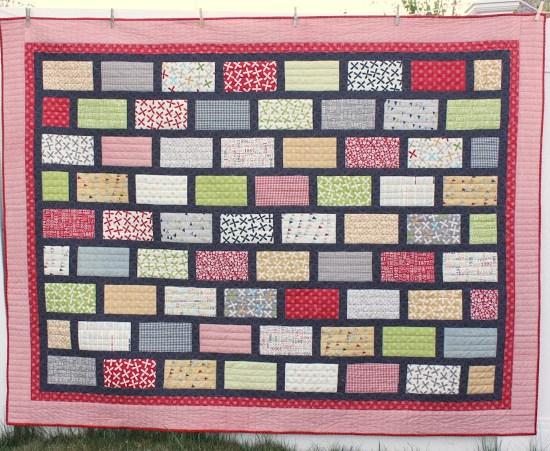 Brickyard Pattern by Amy Smart