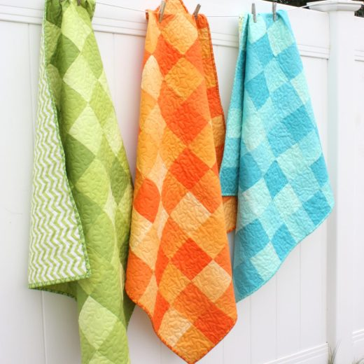 Ombre Baby Quilts