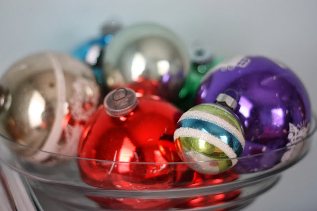 vintage glass christmas tree ornaments - Vintage Glass Christmas Ornaments
