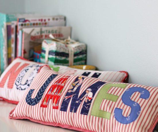 name-applique-pillows