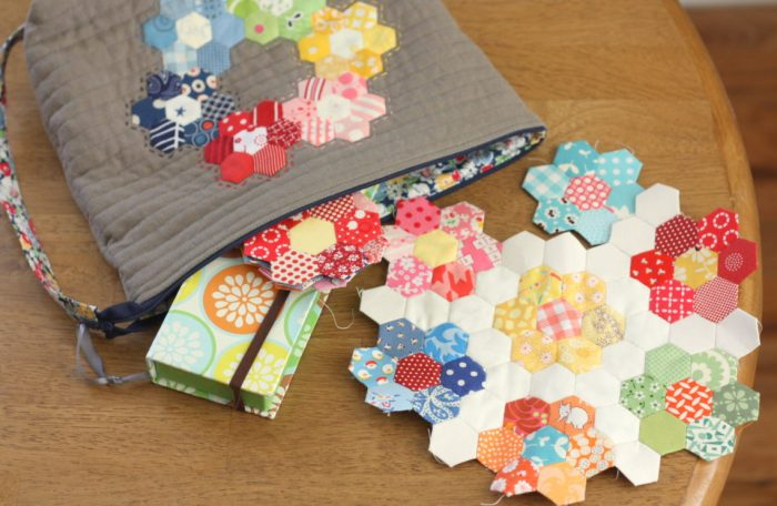 Use scraps for English Paper Piecing