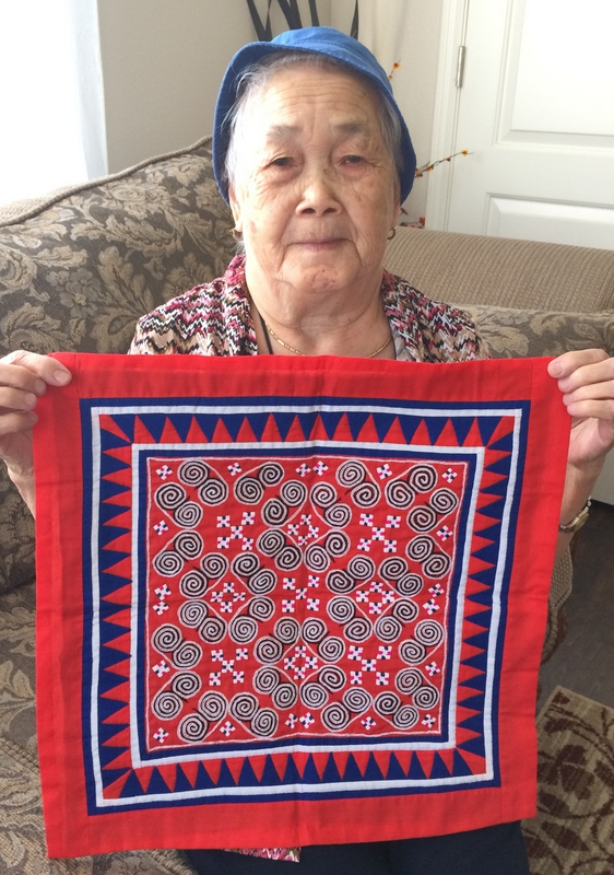 hmong sewing art