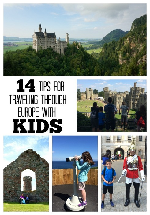 Tips for traveling in Europe with Kids