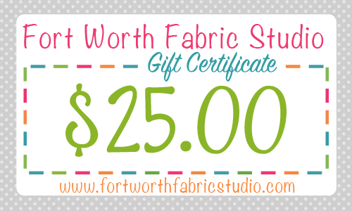 Gift Certificate 25
