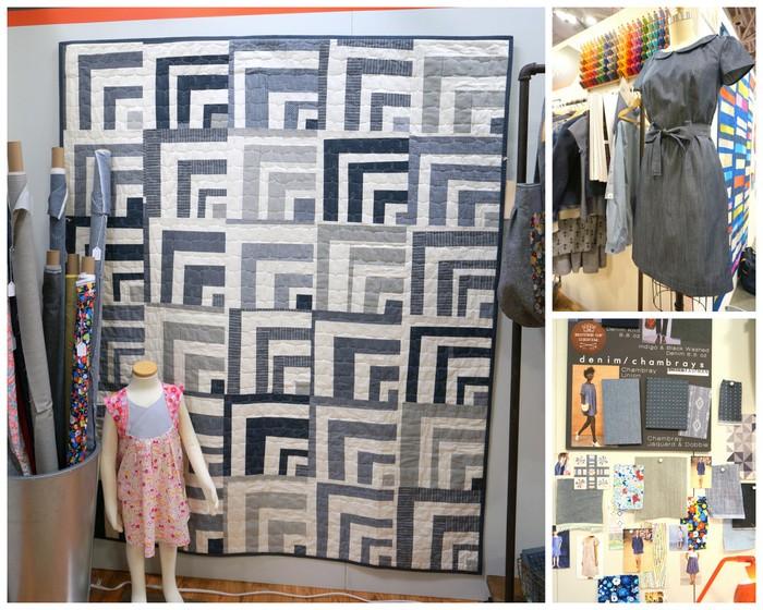 Robert Kaufman Chambray fabric